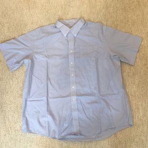 LL Bean Short Sleeve Wrinkle Resistant Shirt XXL